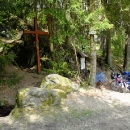 Zastavení u pramene v Balinském údolí