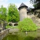 Jsou i zákoutí, kde to vypadá jak na nějakém vodním hradě