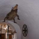 Brněnský drak v průjezdu staré radnice