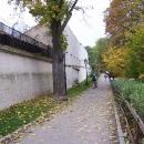 Po prohlídce kasemat máme ještě chvilku čas a tak obcházíme Špilberk kolem dokola