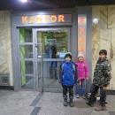 Výlet do Polska zahajujeme návštěvou Kantoru :-)