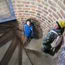 A ten přístup úzkým točitým schodištěm .... byl taky zážitek :-)