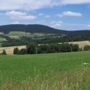 Suchý vrch cestou z Orliček