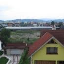 Ranní výhled z okna našeho ubytování - Králova hoľa v Nízkých Tatrách