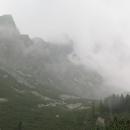 Malá studená dolina - zahajujeme výstup na Téryho chatu