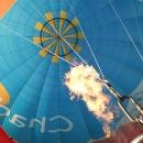 Pohled do útrob balonu