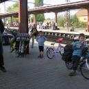 Na nádraží v Kolíně čekáme na přípoj do Přibyslavi