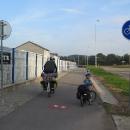 Cyklostezka začíná hned u nádraží!