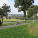 Hamerská cyklostezka. Připadáme si jak někde v Rakousku nebo Německu