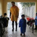 V Rabštejnské Lhotě nás zachránila pěkná autobusová zastávka