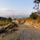 Podvečerní Orlické hory a nás čeká už jenom sjezd :-)