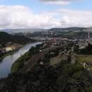 Pohled na Ústí nad Labem