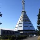 Konečně jsem dorazil k vysílači na Černé hoře