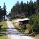 Z této plošiny startují paraglidisté na Černé hoře