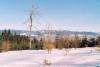 Krásné počasí doprovází krásné výhledy (zde vidíme Králický Sněžník)