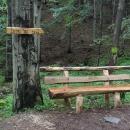 K lesnímu baru, kde chceme přečkat noc, už to máme jen 0,5 kilometru.