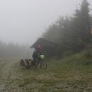 Útulna Mates - náš nejvyšší bod přejezdu Rychlebských hor
