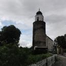 A ještě jeden podobný obrázek, nezaměřený už na moje opuchlé čelo, ale na zvláštní hrado-kostel v Žulové