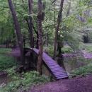 Lávka přes Zbirožský potok