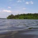 Pavlův experimentální snímek (foceno z vody - foťák to přežil)