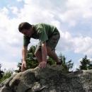 Foťák cvakl, snímek hotov, vládce hor sestupuje do nížiny :-)