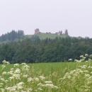 Další náš cíl byla dominanta Železných hor - zřícenina hradu Lichnice