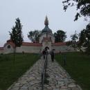 Poutní kostel sv. Jana Nepomuckého ve Žďáru – náš první cíl