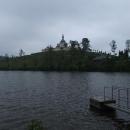 Kostel sv. Jana Nepomuckého nad zámeckým rybníkem