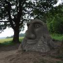 A to už jsme u Mamlase – první socha