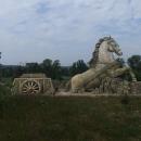 Kůň – třetí socha