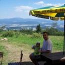 Luděk s Víťou jsou na Kašparově chatě první