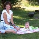 Babička s vnoučkem
