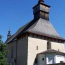 Kostel s dřevěnou střechou v Klášterci nad Orlicí