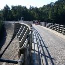 Hráz Pastvinské přehrady