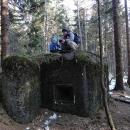 Otec a syn na bunkru