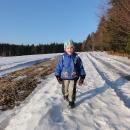 Malými kroky ušel celé ty kilometry