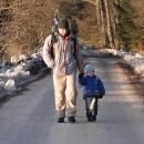 Otec a syn, dvě generace na výletě